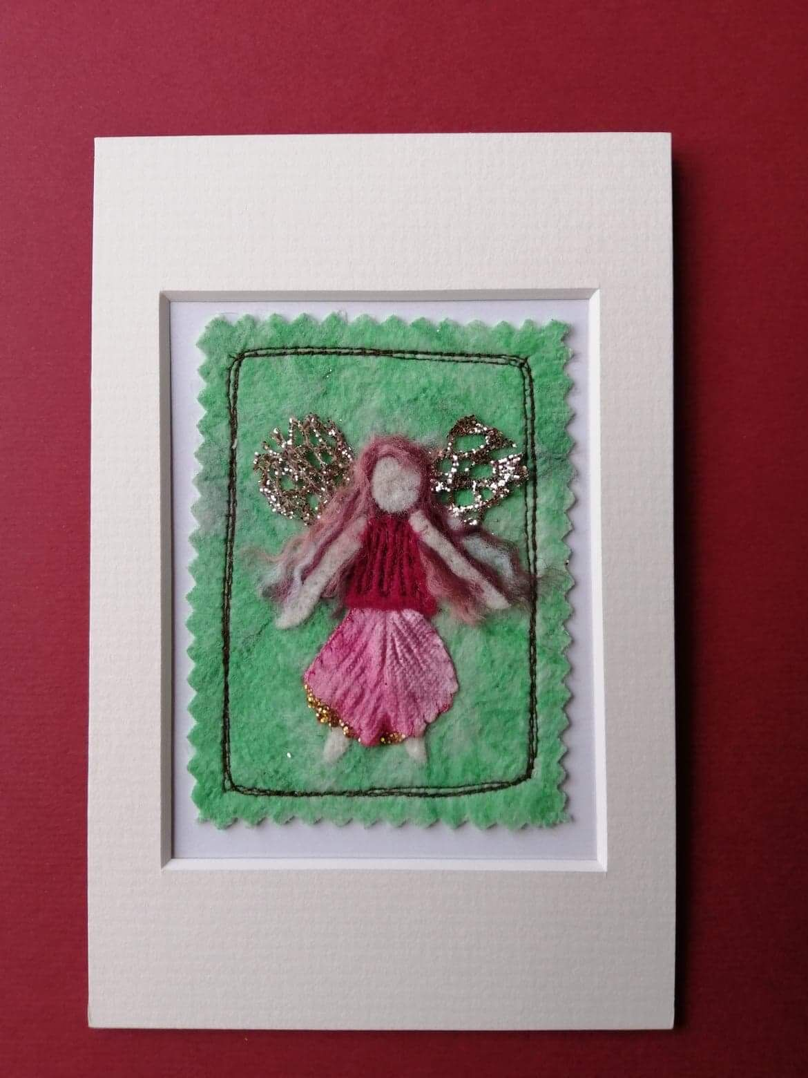 Mixed Media Faerie picture