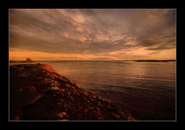 Lindisfarne Sundown