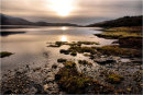 Sunset over Loch Tuath