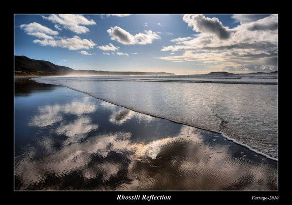 Rhossili Reflection