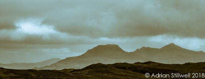 Snowdon Mountain Range, Wales