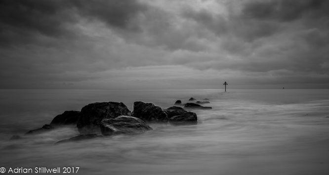 Beach Groynes at Clacton