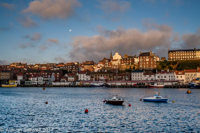 Whitby Harbour and Town