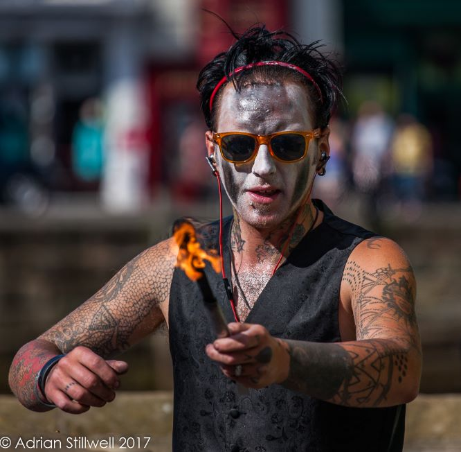Fire Eater, Whitby