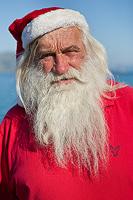 Santa on Adriatic vacation