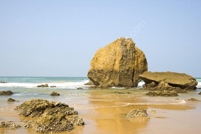 Walking the beach - Bidart South of France