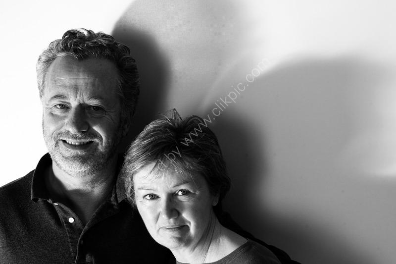 Angela and Frank shadows, London