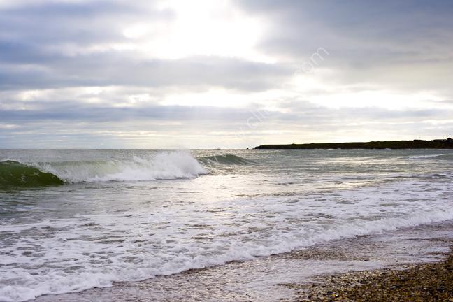 Walking the beach, Donabate strand, Ireland