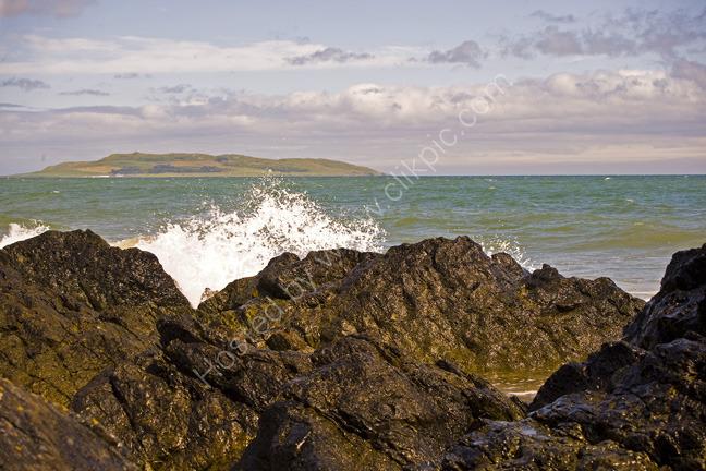Crashing waves, Donabate, Ireland