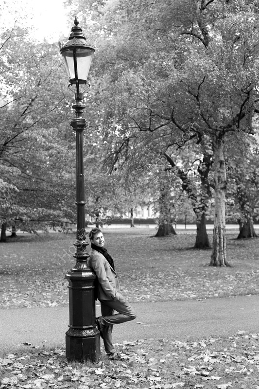 Lamppost, Hyde Park, London