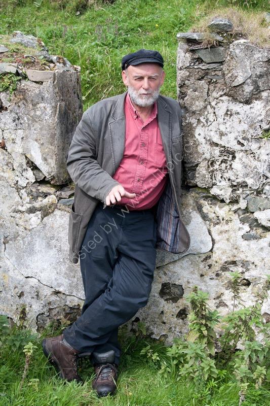 Danny Talking, Blasket Islands, Ireland