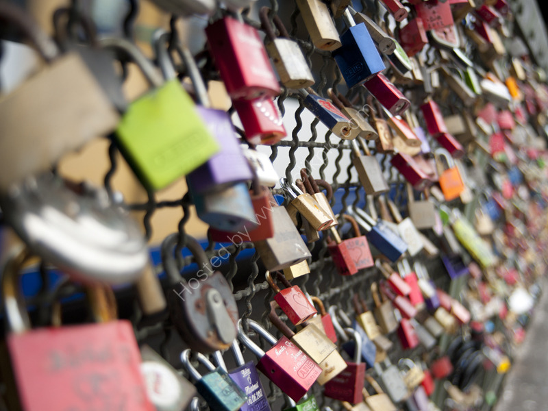 Love Locks, Cologne, Germany