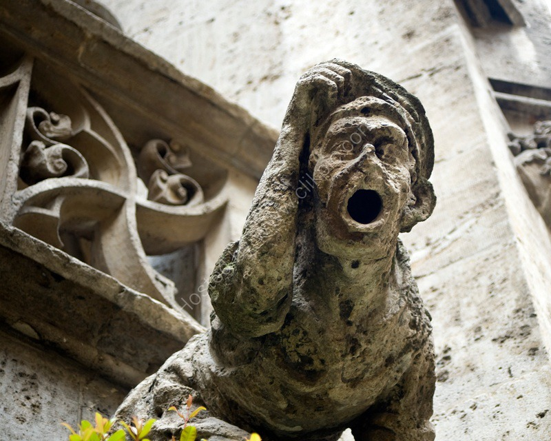 Scream Gargoyle, Munich, Germany