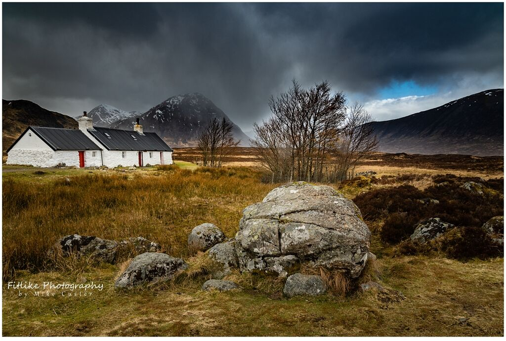 Black Rock Cottage, Glencoe, Scotland
