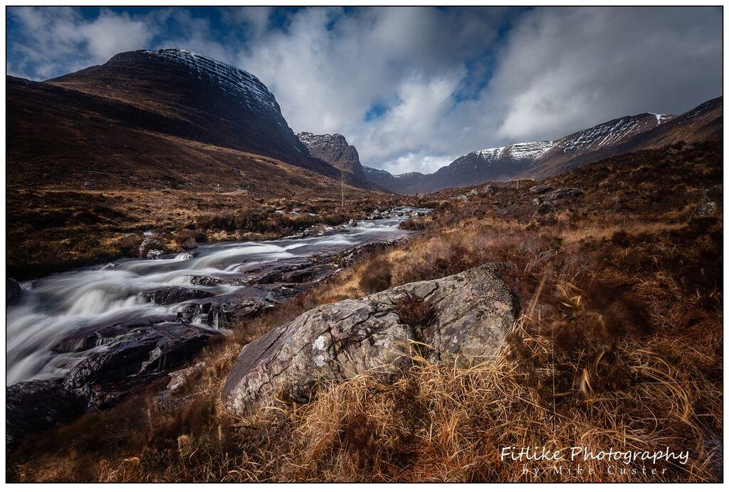 Russell Burn, Bealach Na Ba, Applecross, Scotland