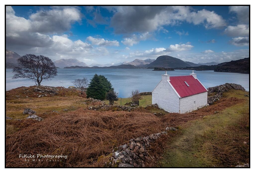 Scottish Landscape photographer at Torridon Scotland