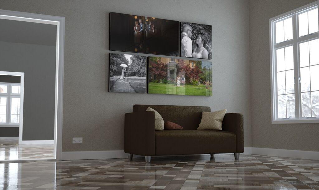 Amanda & Martin Acrylic Living Room