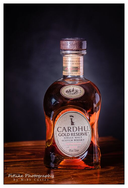 Cardhu-Whiskey-Product Photography-Aberden Photographer-019