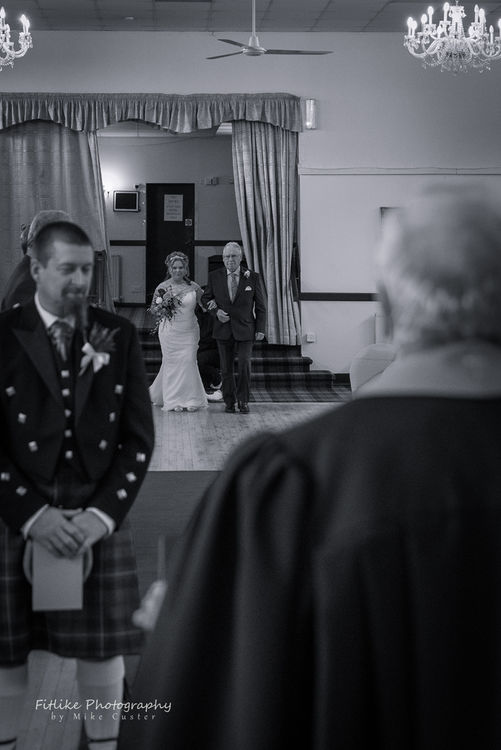 Wedding Photography by Aberdeenshire photographer Fitlike Photography