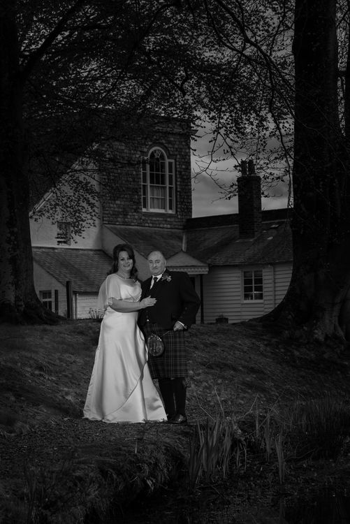 Bride and Groom Couple Photograph.