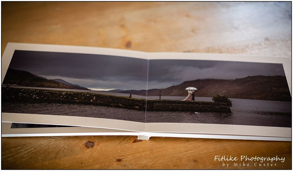 Wedding Photograph Album-Layflat Pages-Inverness Wedding Photographers-006