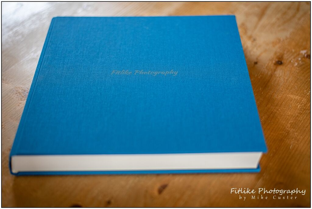 Wedding Photograph Album by NPhoto. Showing the cover. Perth Wedding Photographers