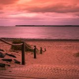 Warm Tones At Broughty Ferry