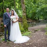 Relaxed Bride & Groom