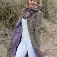 Fashion Portrait On Sand Dunes