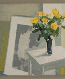 yellow Roses in the Studio