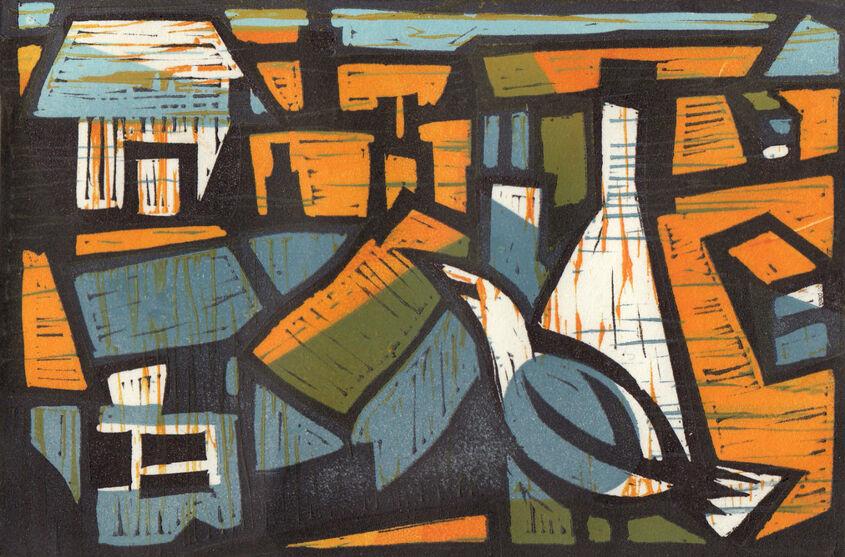 Berwick-upon-Tweed rooftops.