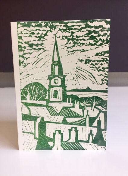 Berwick-upon-Tweed in green.