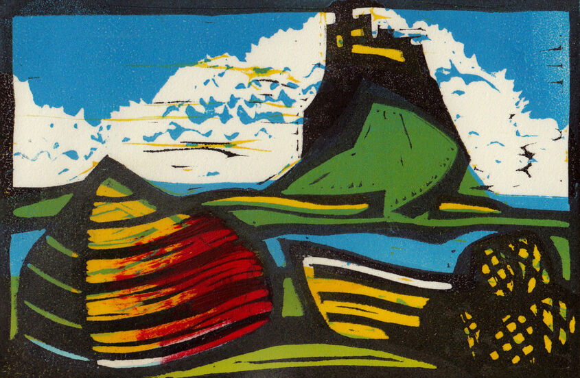 Lindisfarne Castle (landscape)