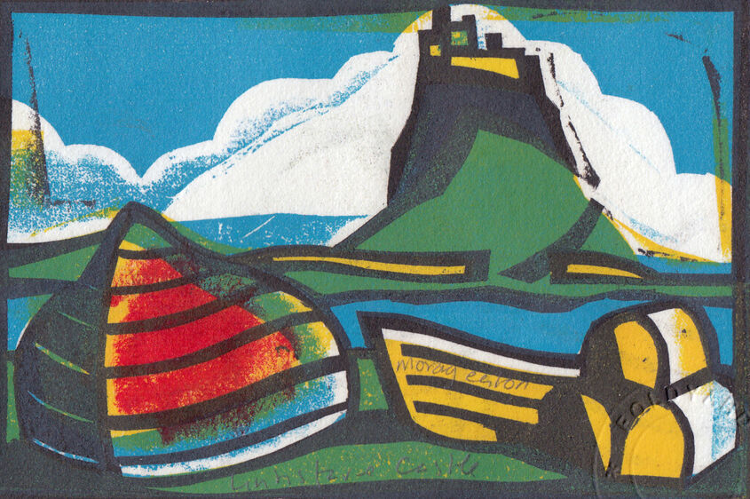 Lindisfarne landscape