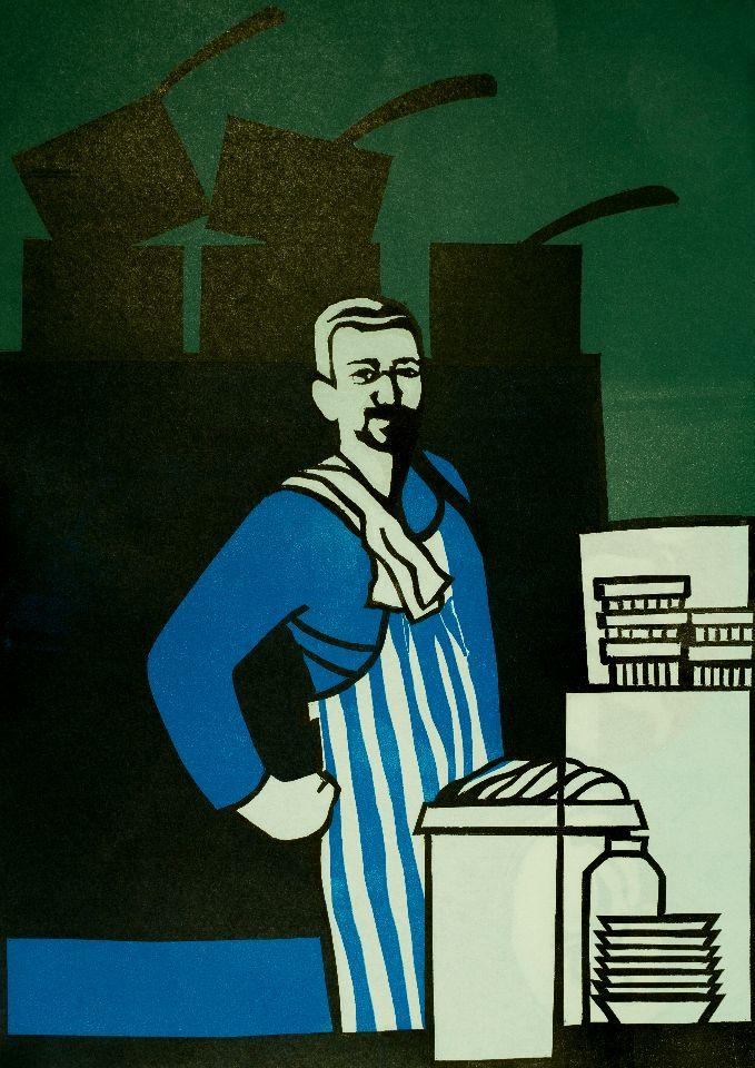 Stewart, Territorial Army Chef