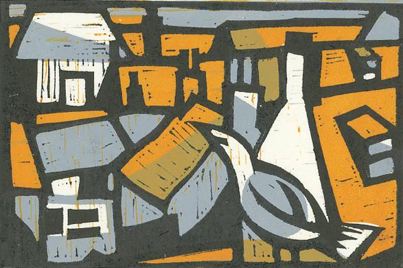 Berwick-upon-Tweed rooftops