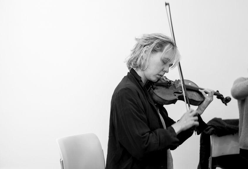 Frankland Quartet rehearsal