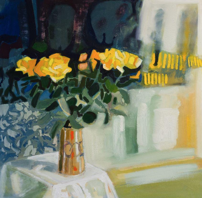 Yellow Roses in November