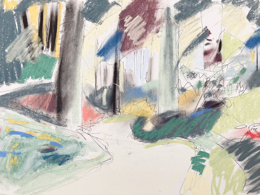 Brackenside wood sketches