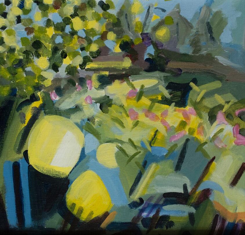 Twizel Bridge among the weeds. Studio