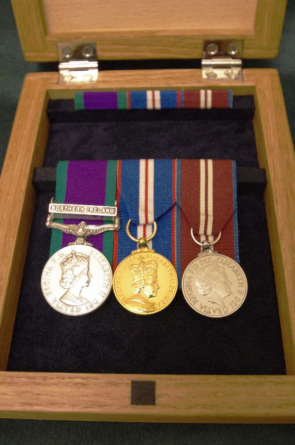Medal Box Hinged-close-up