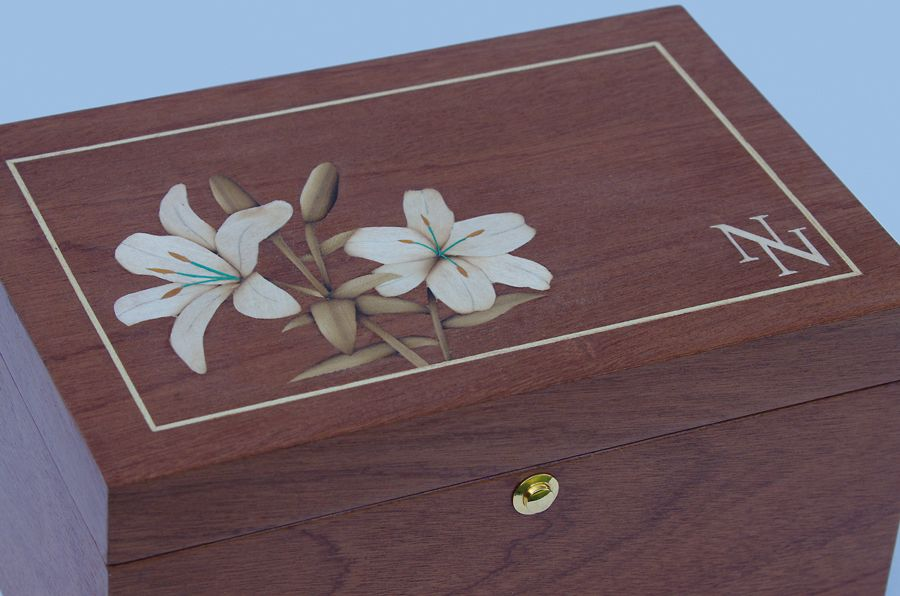 Nikki's Box lilies