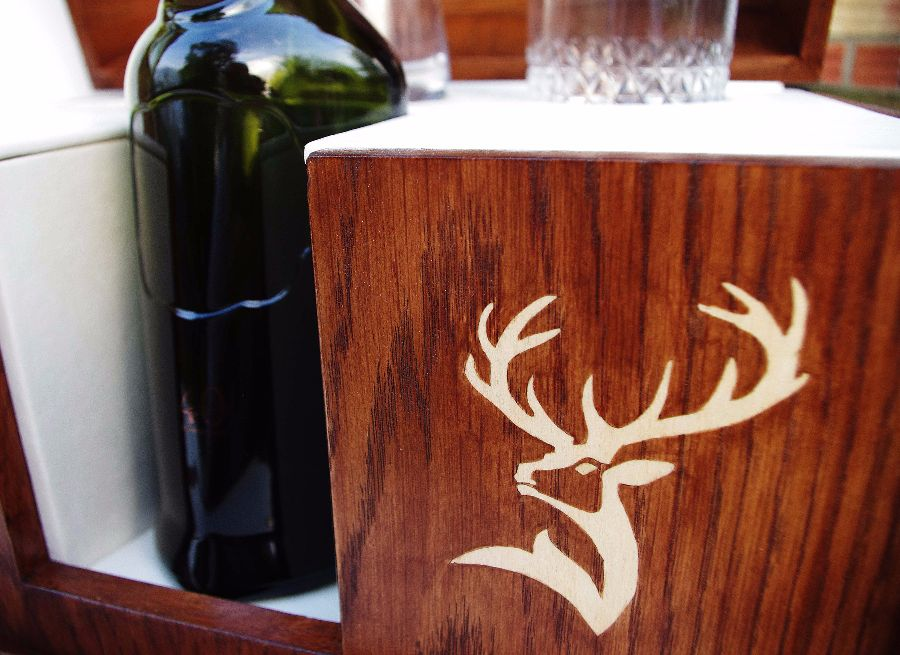 Whisky Box stag