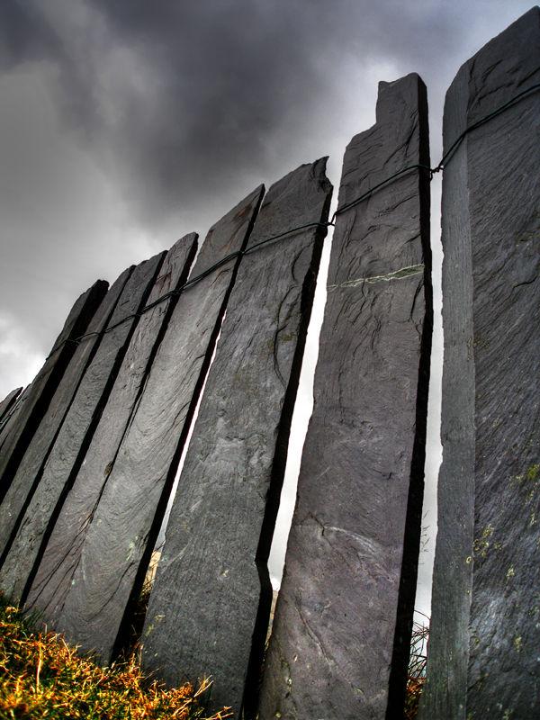 Slate Fence