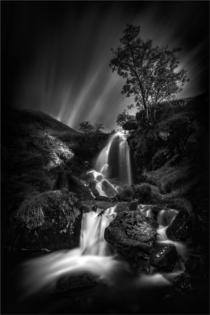 Waterfall on Ben Ime