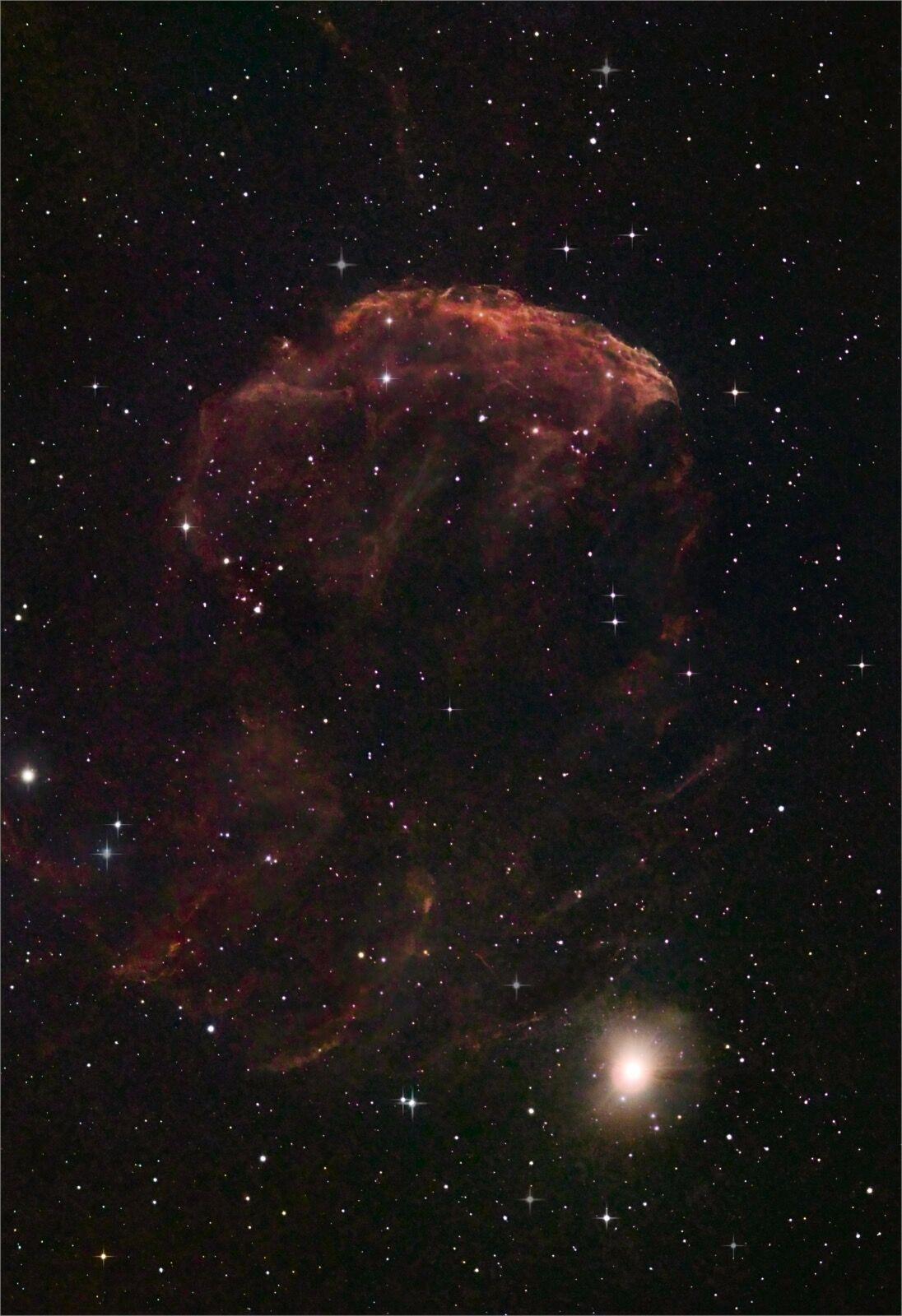 IC 443  The Jellyfish Nebula