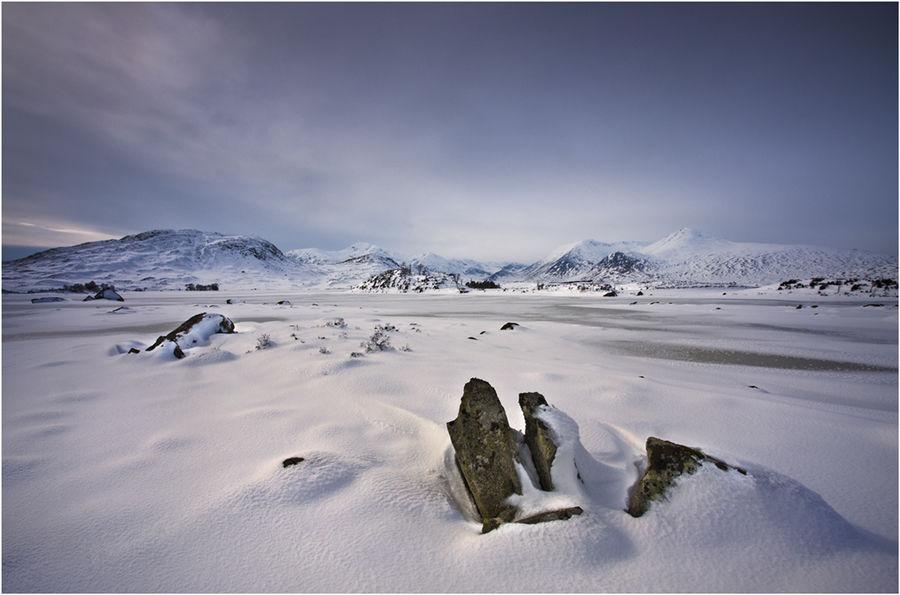 Loch Nah-Achaise Frozen 1