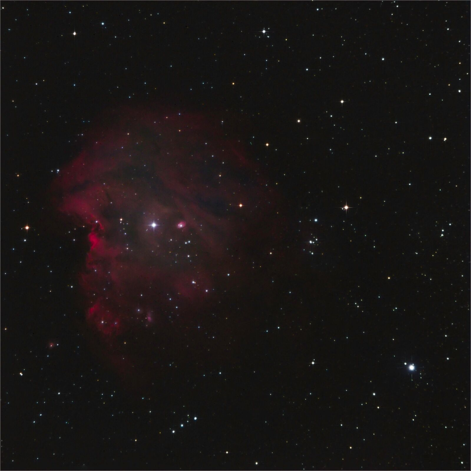 NGC2174 Monkey head Nebula