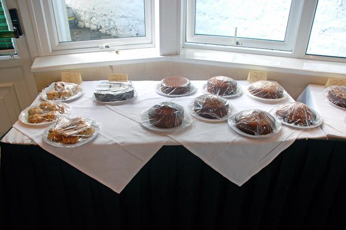 2013 Honey Show - Honey Cakes