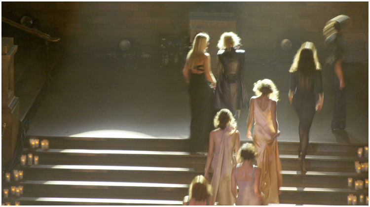 Fashion show - the end.